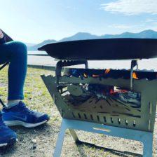 昼下がりー和柄焚き火台